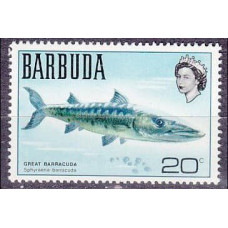 1970 Barbuda Mi.62 Sea fauna 3,50 €