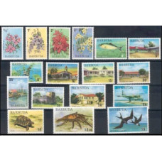1974 Barbuda Mi.185-201 Fauna and Flora 34,00 €