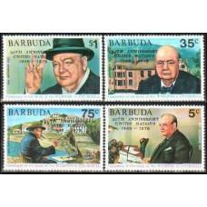 1975 Barbuda Mi.234-37 overprint - Churchill 1.60 €