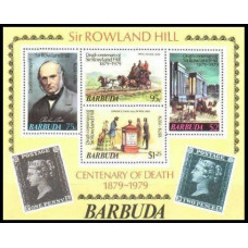 1979 Barbuda Mi.439-42/B41 Rowland Hill 4.00 €