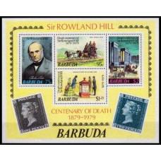 1979 Barbuda Mi.439-442/B41b Horses 3,20 €