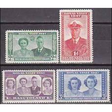 1947 Basutoland Michel 35-38 George VI 0.80 €