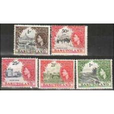 1961 Basutoland Michel 72-3.75.80-1* Elizabet II 36.90 €