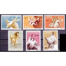 1961 Belgium Mi.1242-1247 Fauna 10,00 €