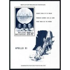 1969 Belgium Mi.1566/B40 Apollo 11 2,50