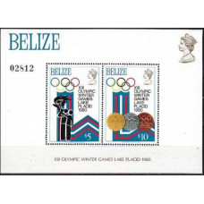 1979 Belize 451-452/B12 1980 Olympiad Lake Placid 5+5S 18,00 €