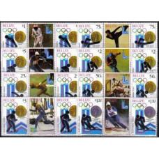 1980 Belize Michel 501-508TabX2 1980 Olympiad Lake Placid 32.00 €