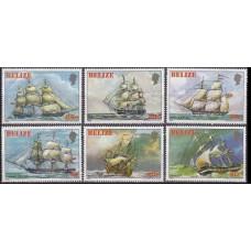 1982 Belize Mi.625-630 Ships with sails 45,00 €