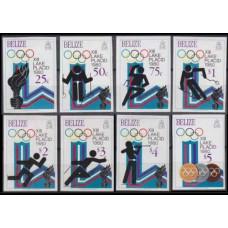1979 Belize Mi.443-450b 1980 Olympic Moscow 75,00