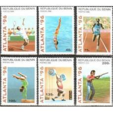 1996 Benin Michel 764-769 1996 Olympiad Atlanta 5.00 €