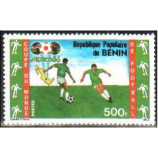1986 Benin Michel 440 1986 World championship on football of Mexico 5.00 €