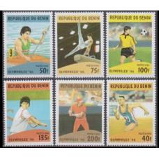 1996 Benin Mi.817-822 1996 Olympiad Atlanta 4,80 €