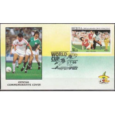 1986 Bequie - Grenadines (St V) cover 1986 World championship on football of Mexico €