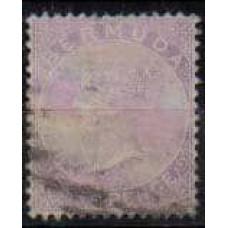1865 Bermuda Michel 4Aa used Victoria 24.00 €