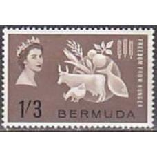 1963 Bermuda Michel 181 Elizabet II 2.50 €