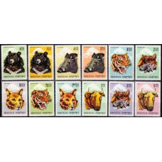 1966 Bhutan Mi.72-83 Fauna 12,00 €