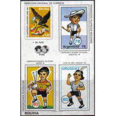 1980 Bolivia Michel B98 1982 World championship on football of Spanien 50.00 €