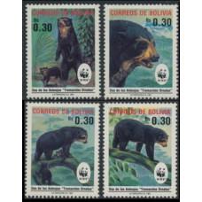 1991 Bolivia Mi.1137-1140 WWF 7,50 €