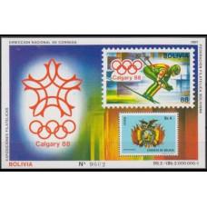 1987 Bolivia Mi.B165 1988 Olympiad Calgary 30,00 €