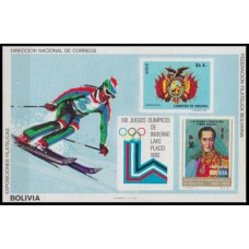 1980 Bolivia Mi.B91b 1980 Olympic Lake Placid 30,00 €