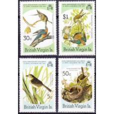1985 British Virgin Islands Mi.533-536 Audubon 7,00 €