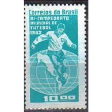 1963 Brazil Michel 1027 Football 1.10 €