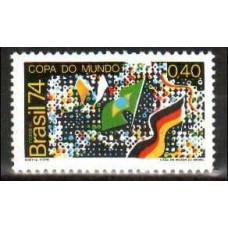 1974 Brazil Michel 1445 Football 1.10 €