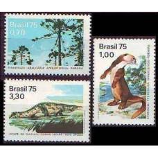 1975 Brazil Mi.1488-1490 Fauna 8.00 €