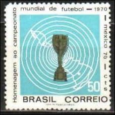 1970 Brazil Mi.1260 Football 2,00 €
