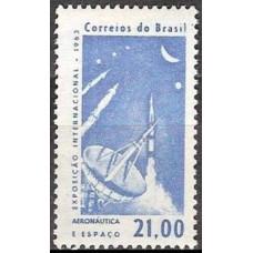 1963 Brazil Mi.1031 Rockets / Satellite Dish