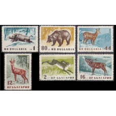 1958 Bulgaria Mi.1058-1063 Fauna 11,00 €