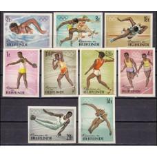 1964 Burundi Mi.125-134b 1964 Olympiad Tokio 15,00 €