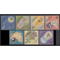 1965 Burundi Mi.193-199Outer Space / Satellite 4,00 €