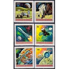 1972 Burundi Mi.832-837 Lunar Satellite 5,50 €