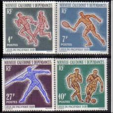 1963 New Caledonia Michel 388-391 Sport 12.00 €