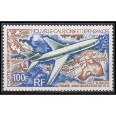 1973 New Caledonia Mi.537 Planes 10,00 €