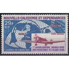 1969 New Caledonia Michel 464** Planes 7.00 €