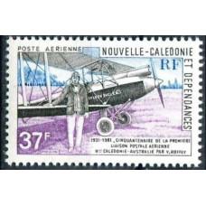1981 New Caledonia Mi.680 Planes 2,00 €