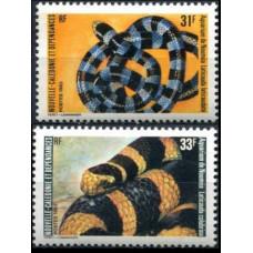 1983 New Caledonia Mi.716-717 Fauna 4,50 €