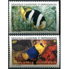 1984 New Caledonia Mi.733-734 Sea fauna 7,00 €
