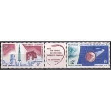 1966 New Caledonia Mi.418-419Tab Rockets 9,50 €