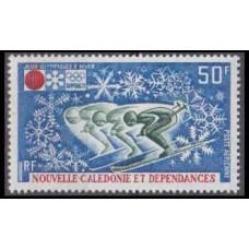 1972 New Caledonia Mi.511 1972 Olympiad Sapporo 8,50