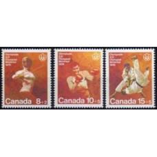 1975 Canada Michel 602-604 1976 Olympiad Montreal 1.70 €