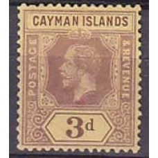 1912 Cayman Islands Mi.37a* George V 15.00 €