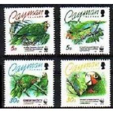 1993 Cayman Islands Mi.690-693 WWF 8.00 €