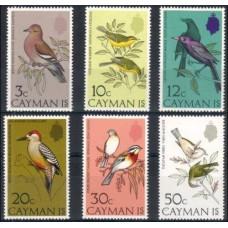 1974 Cayman Islands Mi.321-326 Birds 35,00 €