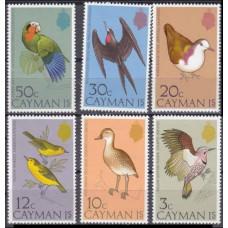 1975 Cayman Islands Mi.350-355 Birds 22,00 €