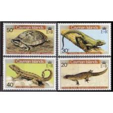 1981 Cayman Islands Mi.471-474 Fauna 4,00 €