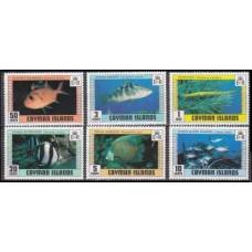 1979 Cayman Islands Mi.424-429 Sea fauna 6,00 €