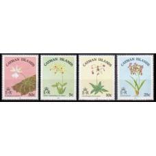 1985 Cayman Islands Mi.545-548 Flowers 14,00 €